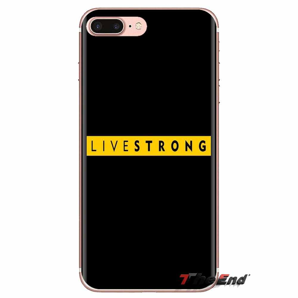 Livestrong df 鼓舞 empowers Lg スピリットモトローラモト X4 E4 E5 G5 G5S G6 Z Z2 Z3 G2 G3 C 再生プラスミニ電話バッグケース