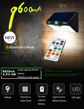 New Solar Led Light Outdoor Mention Sensor Street Lighting IP65 Waterproof Solar Led Lamp Outdoor Luz Solar Led Para Exterior