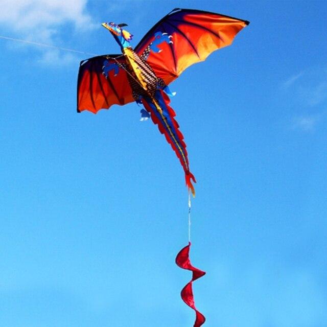 Фото новый 3d воздушный змей дракона с хвостовой каймой для воздушные