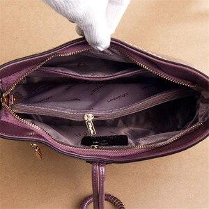 Image 5 - ヴィンテージ本革の高級ハンドバッグの女性のバッグデザイナーハンドバッグ高品質のクロスボディバッグ 2019 女性のハンドバッグ