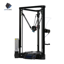 3D принтер ANYCUBIC Kossel, принтер 3D, автокалибровка, рейсовые направляющие, увеличенная область печати, набор для сборки