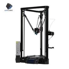 ANYCUBIC Kossel طابعة ثلاثية الأبعاد Impresora ثلاثية الأبعاد منصة المستوى التلقائي بكرة دليل خطي زائد مطبوعة كبيرة الحجم سطح المكتب لتقوم بها بنفسك عدة