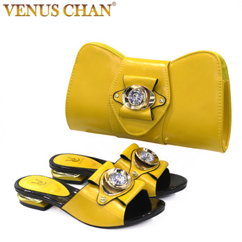2020 New blue Matching Shoes and Bag Set In Heels African Shoes and Matching Bags Italian Pumps Matching Shoe and Bag Set 1
