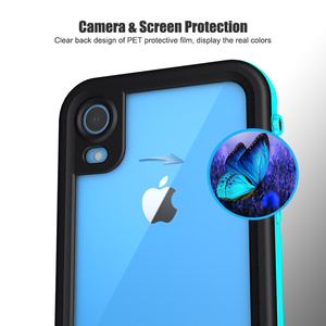 Image 5 - SHELLBOX funda impermeable IP68 para iPhone, funda a prueba de golpes para iPhone 11 Pro Max X XS MAX Clear 360, XR 8 7 Plus