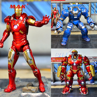 1/12 Comicave Scale Iron Man 3 mk7 mk21 mk30 mk33 mk38 mk44 Alloy Diecast Full Set Action Figure Doll for Fans Holiday Gifts