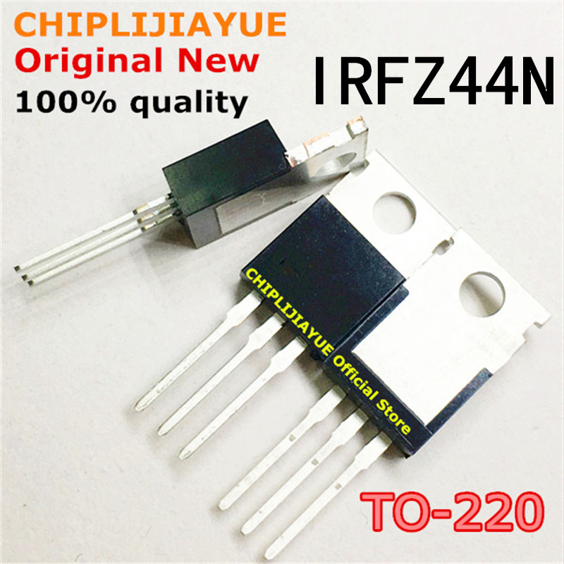 5PCS IRFZ44N TO220 IRFZ44NPBF IRFZ44 TO-220 new and original IC Chipset