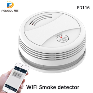 Image 2 - Smoke Detector Wifi Smoke Alarm Tuya Smartlife APP Android IOS Control Fire Protection Portable Alarm Detector