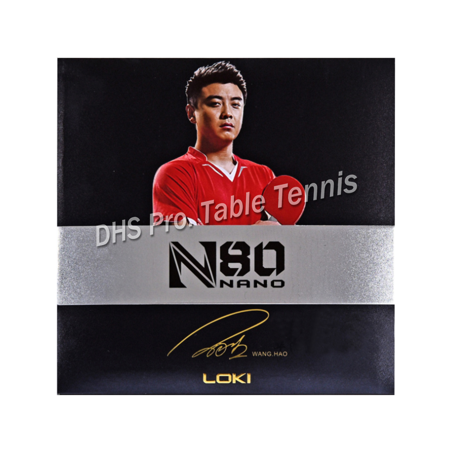 LOKI N80 High-density Yellow Sponge Table Tennis Rubber Pips In High Sticky Strong Spin Ping Pong Rubber For Loop And Control