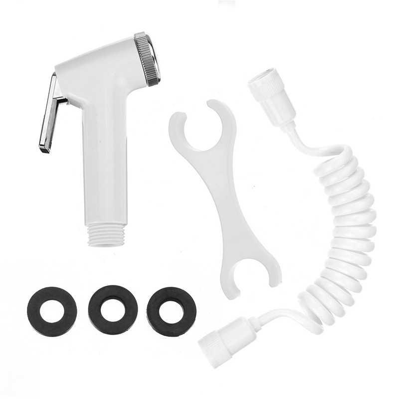 ABS Handheld Toilet Portable Bidet Sprayer Nozzle Shower Head Seat Bathroom Kit