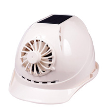 Fan-Cap Safety-Helmet Solar-Panel Hard-Hat Working-Fan Protective Construction ABS Powered