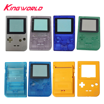 10sets High quality Plastic Shell Cover Case housing for G-ameboy for G-BP Pocket Game Console