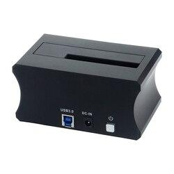 Docking Station per Hard Disk 2.5/3.5 pollici SATA USB 3.0 In Lega di Alluminio HDD SSD Docking Station di Base del Disco Rigido custodia Universale