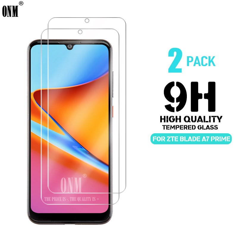 2 Pcs Tempered Glass For ZTE Blade A7 Prime Glass Screen Protector Premium Tempered Glass ZTE Blade A7 Prime Protective Film