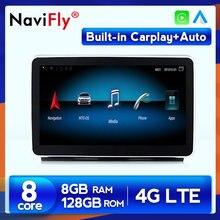 Reproductor Multimedia con GPS para coche, navegador con Android, 8GB + 2021 GB, para ML, W166/GL, X166, ML300, ML350, ML400, ML550, GL350, GL400, GL500, novedad de 128