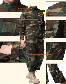 Men Military Uniform Airsoft Camouflage Tactical Suit Camping Army Special Forces Combat Jcckets Pants Militar Soldier Clothes 4