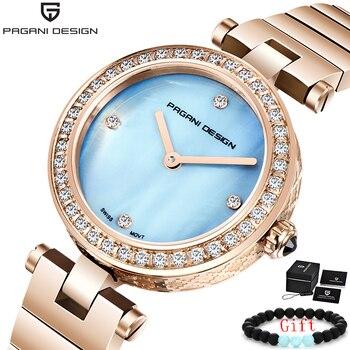 PAGANI 2019 New Women Watch Top Brand Luxury Gold Quartz Ladies Watches Dress Waterproof Sport Fashion Clock Relogio Feminino