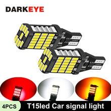 4 шт t15led автомобильный сигнальный светильник супер яркий