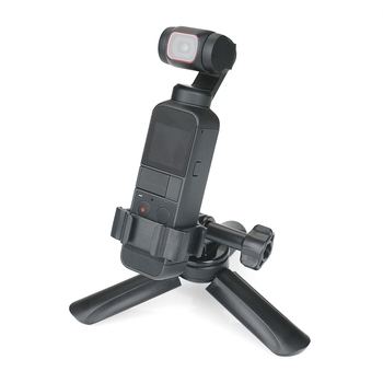 Wytrzymały uchwyt do kamery z klipsem-DJI Pocket 2 akcesoria do kamer sportowych tanie i dobre opinie NoEnName_Null 54DD4NB1102063 CN (pochodzenie)