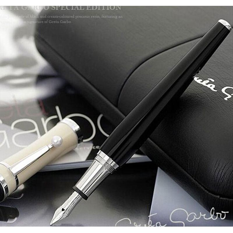 MB Business Greta Garbo Fountain Pens Luxury Edition Ballpoint Roller Ball Pens Durable Signing Stationery