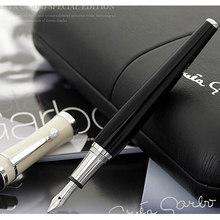 Mb negócio greta garbo fonte canetas de luxo edição esferográfica rolo bola canetas durável assinar artigos de papelaria
