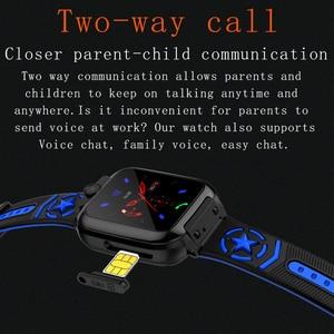 Image 5 - AISHI DS60 עמיד למים WIFI ילדים smart watch lbs מיקום sos 710 mah ארוך המתנה ספורט נייד טלפון שעון 1.44 אינץ tft מסך