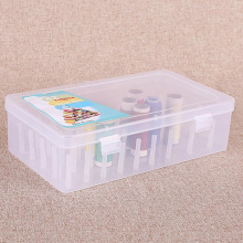 Sewing Thread Storage Box 42 Pieces Spools Bobbin Carrying Case Container Holder Craft Spool Organizing Case Sewing 24 Spools Re