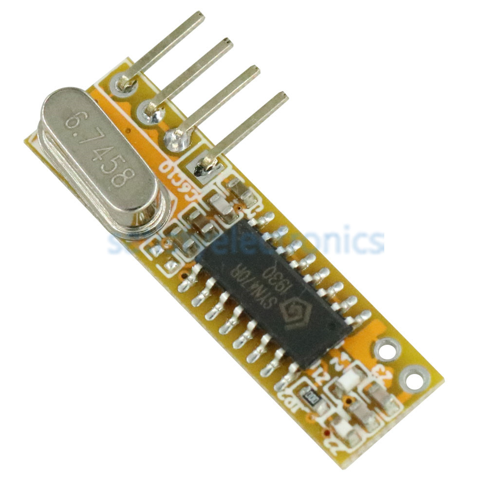 10PCS RXB12 433Mhz Superheterodyne Wireless Receiver Precise for Arduino//AVR