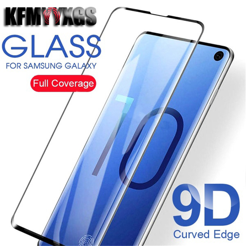 9D Full Cover Curved Screen Protector for Samsung A5 2017 A6 PLUS A7 2017 A8 PLUS A9 PRO C7 C9 PRO Tempered Glass Film image