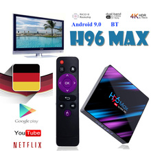 tv box smart h96 max ip TV Box on Rockchip boxes RK3318 Built-in software Google Store Player Netflix Youtube