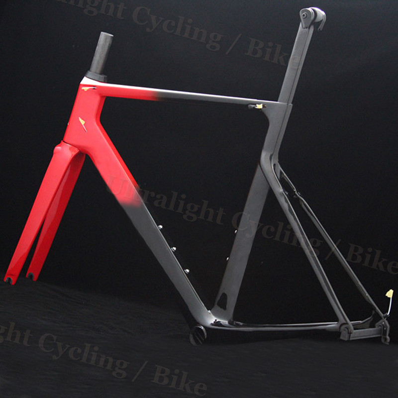 TaiWan Frameset Disc Or V Brake T1000 Road Racing Carbon Bike Bicycle Frame Light Weight With Logo XDB DPD Shipping Available