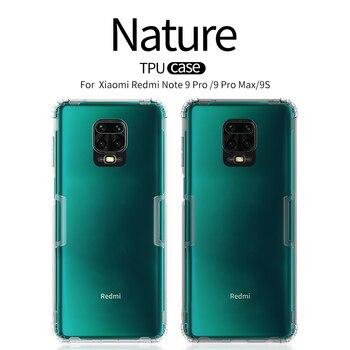 TPU Case for Xiaomi Redmi Note 9s NILLKIN Nature Transparent Silicone Soft Back Cover Redmi Note 7 8 9 Pro Max 8T 9S Case