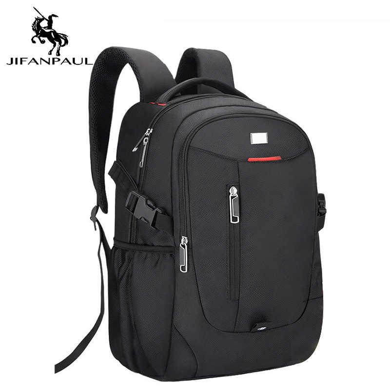 JIFANPAUL ファッションスポーツの男性と女性のバッグアウトドア旅行防水 usb インタフェースパッケージキャンパスカジュアルメンズと女性のバッグ
