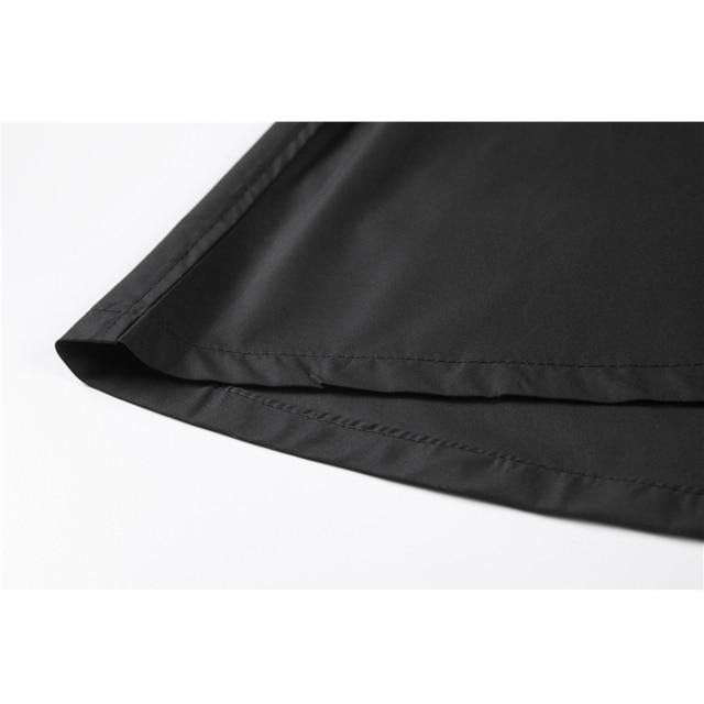 Gothic Style Black Long Dress Women Autumn Japanese Harajuku Long Sleeve With Belt Streetwear Cosplay Vintage Goth Dress Women 6