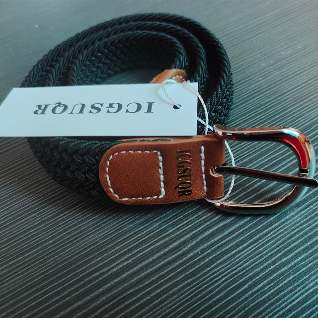 Colorful Elastic Polyester Belt for Boys 6