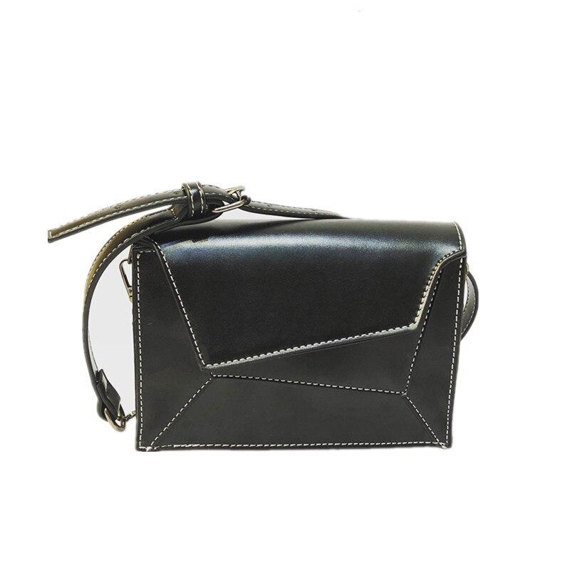 Женская сумка кожанная высшего качества 2020 мини чёрная сумка не плечо Pommax H19-003 сумка шоппер на девочки