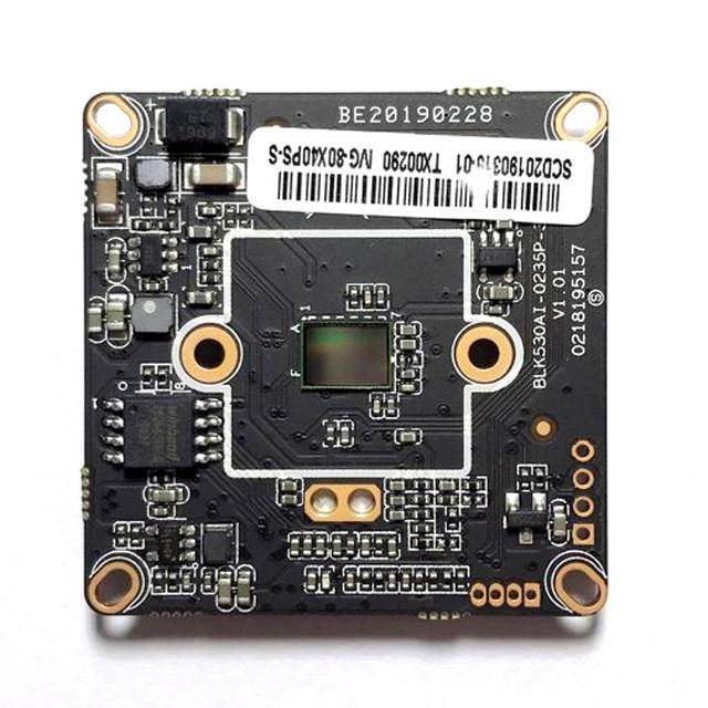 HD CCTV 4MP IP kamera modülü ağ güvenlik 4.0MP IPC PCB ana kurulu düşük aydınlatma CMOS H.265 ONVIF