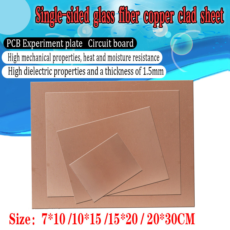 1//5PCS New Double Side Clad PCB Copper Clad Circuit Kit Board Glass XLL