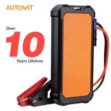 Autowit carro jumpstarter 2, 12-volt bateria-menos portátil supercap (até 7.0l gás, 4.0l diese) acessórios do carro de partida do motor