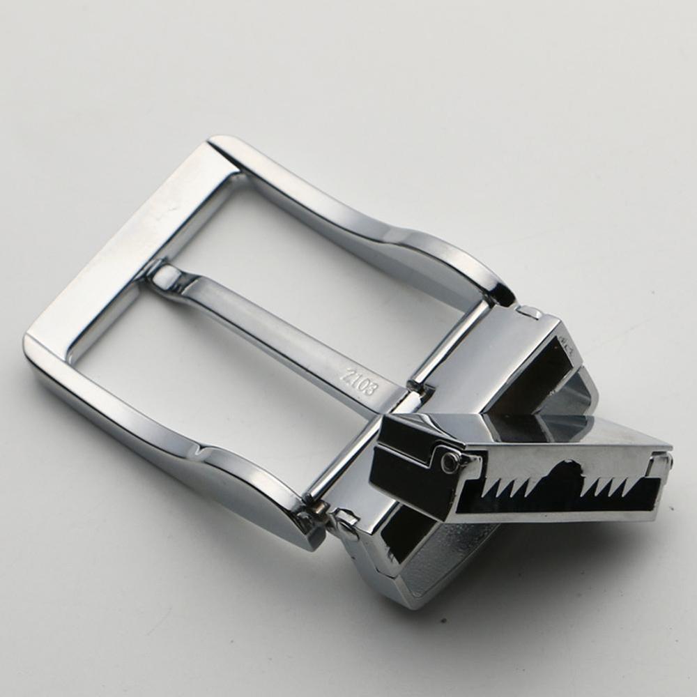 1pc Men Belt Buckle4cm Metal Pin Buckle Fashion Jeans Waistband Buckles DIY  Craft Accessories