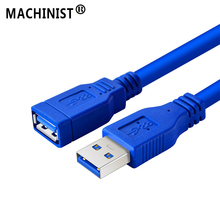 USB 3.0 Cavo USB Piatto Cavo di Estensione Maschio a Femmina Cavo Dati USB2.0 Extender Cavo per PC TV iPhone U disco Cavo di Estensione