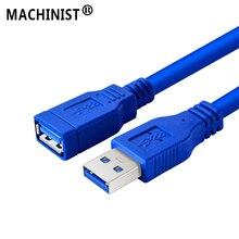 USB 3.0 כבל USB שטוח כבל מאריך זכר לנקבה נתונים כבל USB2.0 Extender טלוויזיה במחשב iPhone U דיסק הארכת כבל