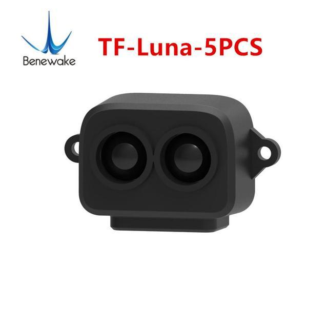 5 pces tf luna benewake lidar range finder sensor módulo único ponto variando para arduino pixhawk zangão uart versão