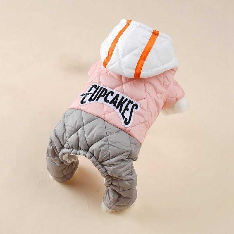 Vêtements d'hiver pour chien chaud manteaux de collier de fourrure épaissir veste manteau de chiot pour bouledogue français Chihuahua petits chiens vêtements pour animaux de compagnie