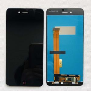 Image 4 - מקורי נבדק AAA 5.2 אינץ LCD תצוגה + מסך מגע Digitizer עצרת Smartphone החלפת ZTE nubia Z11 מיני S NX549J