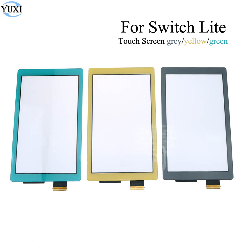 YuXi Plastic LCD Display Touch Screen For Nintendo Switch Lite Touch Screen Digitizer For Switch NS Cover Panel Game Console