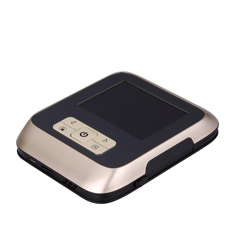 3.0 pouces TFT LCD numérique porte visionneuse HD infrarouge Vision nocturne 25 anneaux vidéo sonnette Visible porte caméra