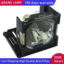 POA LMP101 العارض مصباح ل سانيو PLC XP57 PLC XP57L PLC XP5600C PLC XP5700C ML 5500 / Eiki LC X71 LV LP28 LV 7575 Happybate