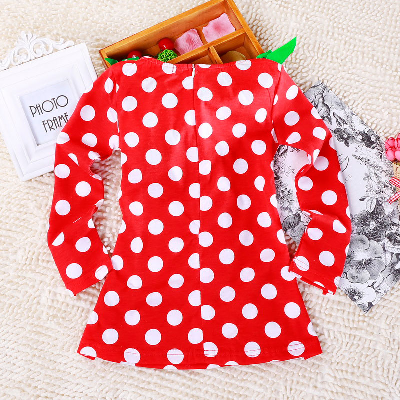 H5e05ae120d674a70a8e3a7f92b93acdco 2-6T Santa Claus Christmas Dress Kids Party New Year Costume Winter Snowman Baby Girl Clothes Christmas Tree Children Clothing