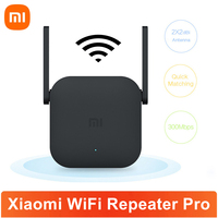 Xiaomi-repetidor WiFi Mi Pro, amplificador de 300M, extensor de rango de red WiFi 2 × 2, antena externa