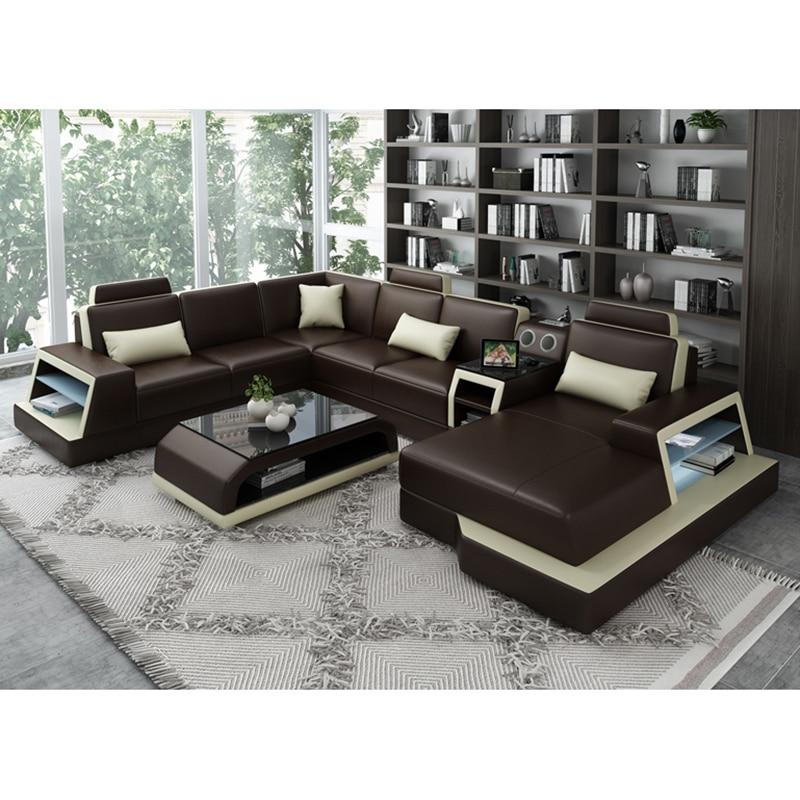 Modern Sectional L Shape Corner Sofa